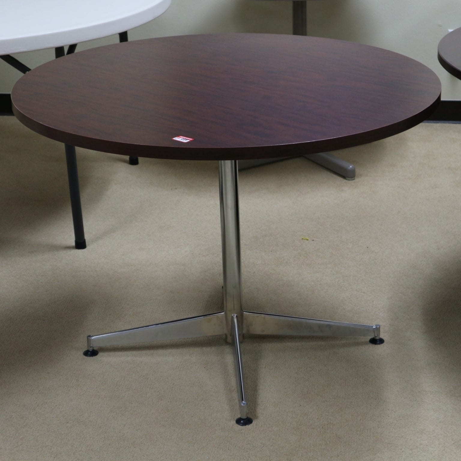 """Round Table 35.5""""   Office Furniture Liquidations Throughout Most Popular Mcquade (View 2 of 15)"""