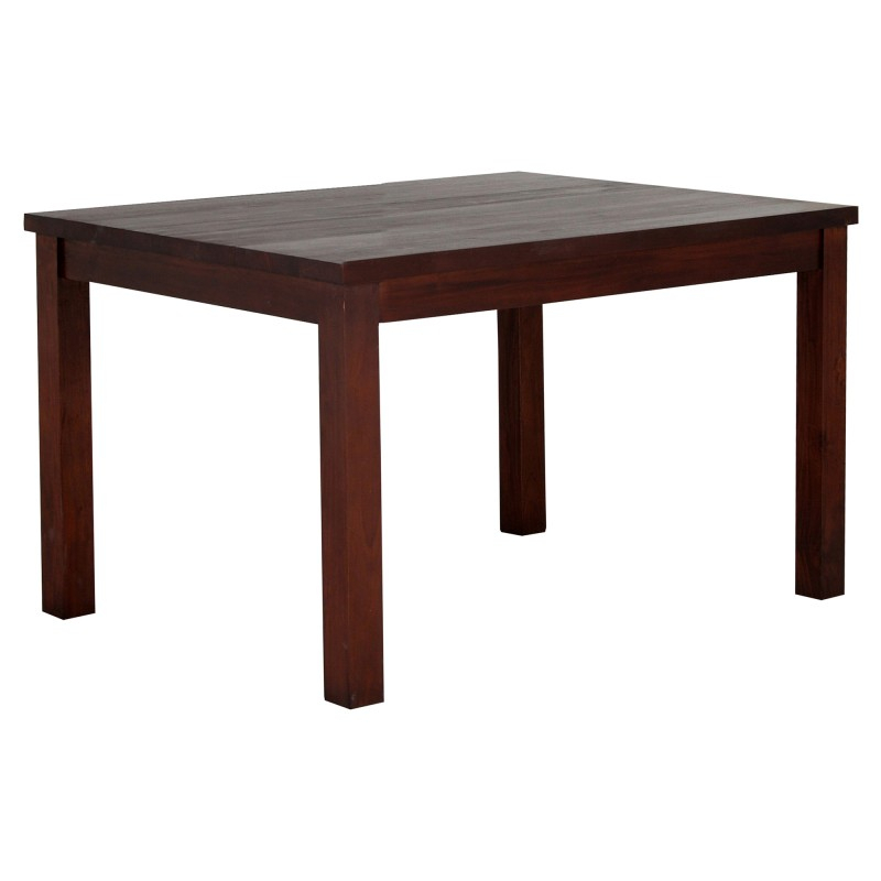 Rpn Mahogany Timber Square Dining Table, 100Cm, Mahogany With Regard To Best And Newest Genao 35'' Dining Tables (View 4 of 15)