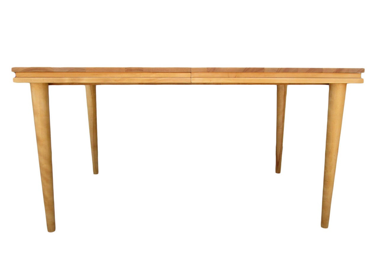 Russel Wright Solid Maple Dining Table At 1Stdibs Throughout Current Tylor Maple Solid Wood Dining Tables (View 8 of 15)