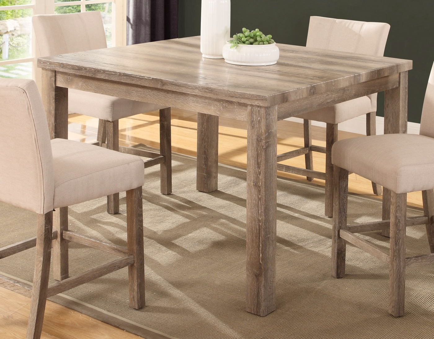 """Sanders Classic 48"""" Counter Height Dining Table In Intended For Most Current Pennside Counter Height Dining Tables (View 8 of 15)"""