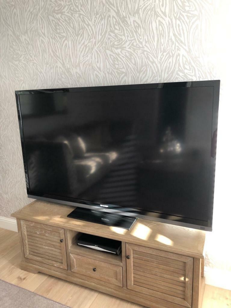 Sharp Tv 70 Inch | In East Kilbride, Glasgow | Gumtree Intended For Latest 3 Games Convertible 80 Inches Multi Game Tables (View 8 of 15)