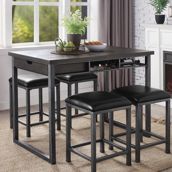 Shop Carbon Loft Mezzo Counter Height Dining Table With Pertaining To Most Up To Date Pennside Counter Height Dining Tables (View 11 of 15)