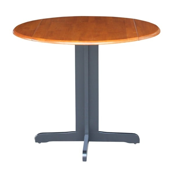 Shop International Concepts Dual Drop Leaf 36 Inch Dining For Most Recent Pevensey 36'' Dining Tables (View 10 of 15)