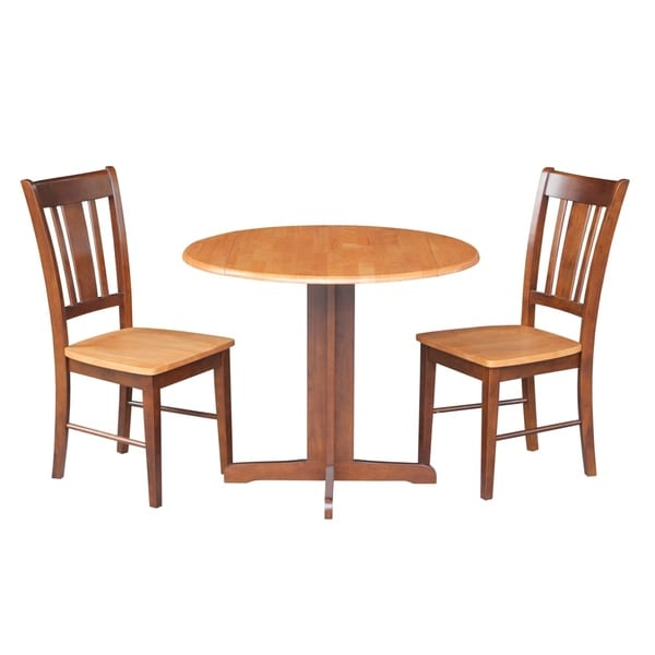 Shop International Concepts Dual Drop Leaf 36 Inch Dining Pertaining To Most Recent Hitchin 36'' Dining Tables (View 6 of 15)