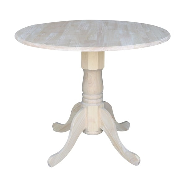 Shop International Concepts Unfinished Round 36 Inch Dual Within Most Recent Pevensey 36'' Dining Tables (View 8 of 15)