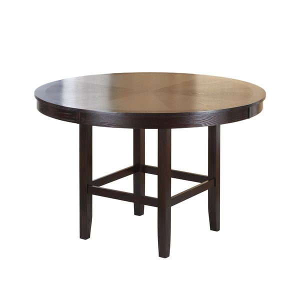 Shop Legged Pedestal 54 Inch Round Counter Height Dining Intended For Most Recently Released Bar Height Pedestal Dining Tables (View 2 of 15)