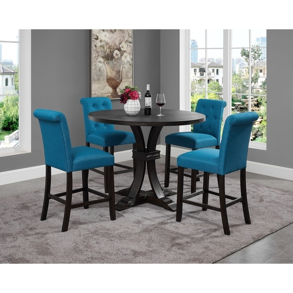 Featured Image of Dawid Counter Height Pedestal Dining Tables