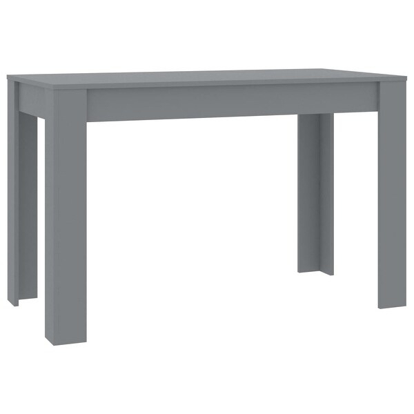 """Shop Vidaxl Dining Table Gray 47.2""""X23.6""""X29.9"""" Chipboard In Most Up To Date Crilly  (View 9 of 15)"""