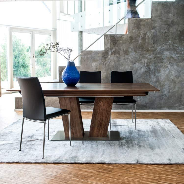 Skovby Walnut Extending Dining Table #39 (Lifestyle Within Latest Steven 39'' Dining Tables (View 2 of 15)
