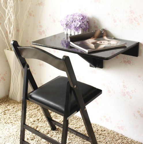 Sobuy® Wall Mounted Drop Leaf Table, Folding Kitchen In Latest Anzum 23.6'' Dining Tables (Photo 13 of 15)
