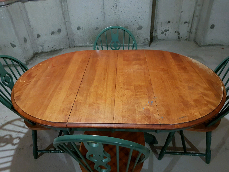 Solid Maple Dining/Breakfast Table | Dining Tables & Sets Regarding Recent Drake Maple Solid Wood Dining Tables (View 14 of 15)