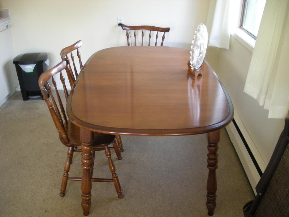 Solid Maple Dining Room Table And 6 Chairs Victoria City With Most Current Tylor Maple Solid Wood Dining Tables (View 13 of 15)