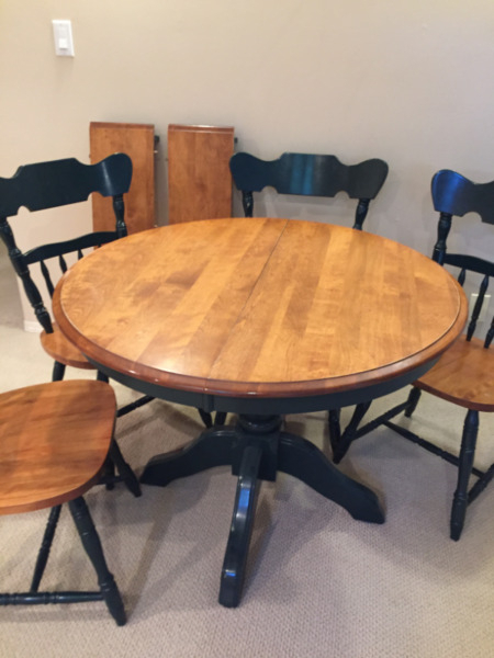 Solid Maple, Round Dining Table | Dining Tables & Sets With Most Recent Tylor Maple Solid Wood Dining Tables (View 12 of 15)