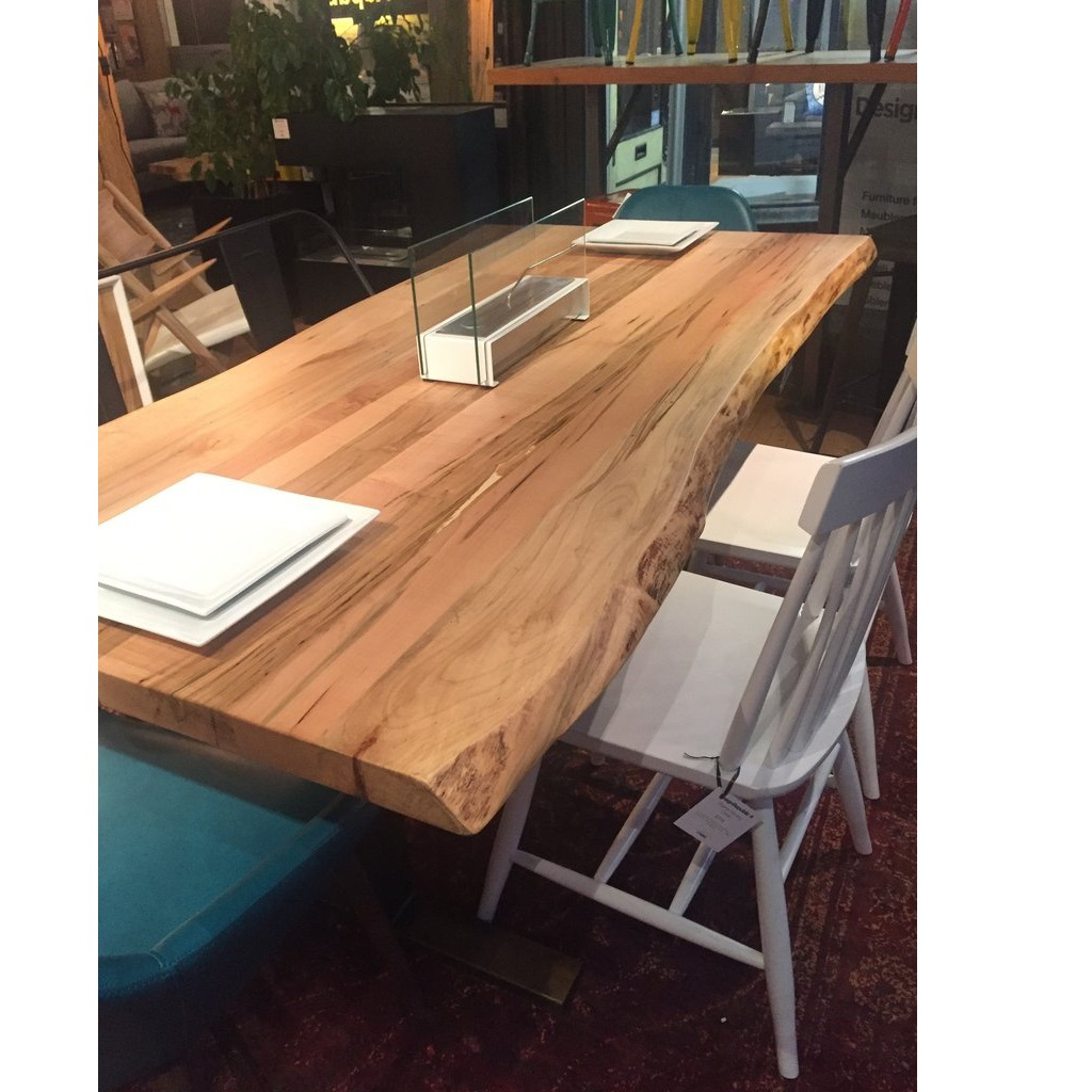 Solid Maple Wood Table | Handmade Solid Wood Dining Tables Pertaining To 2017 Tylor Maple Solid Wood Dining Tables (View 4 of 15)