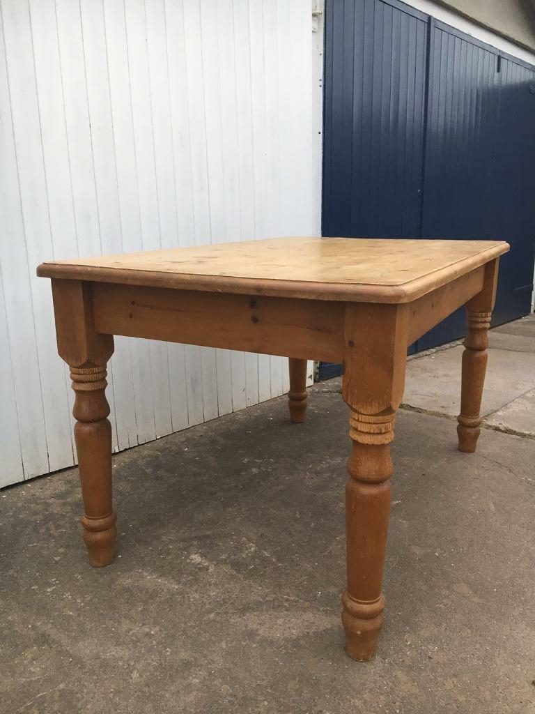 Solid Pine Farmhouse Dining Table   In Bristol   Gumtree Regarding Most Recently Released Reagan Pine Solid Wood Dining Tables (View 12 of 15)