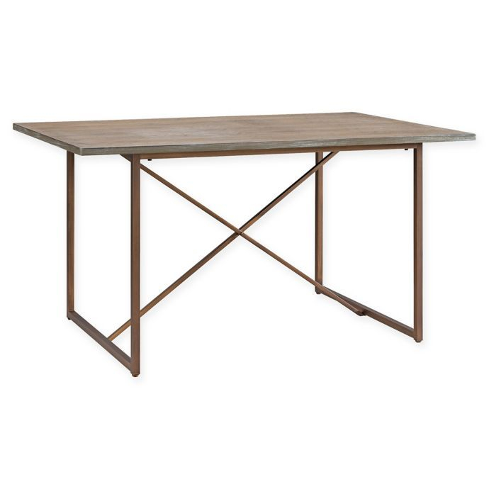 Southern Enterprises Coronado Dining Table In Oak   Dining With Most Up To Date Rishaan Dining Tables (View 7 of 15)