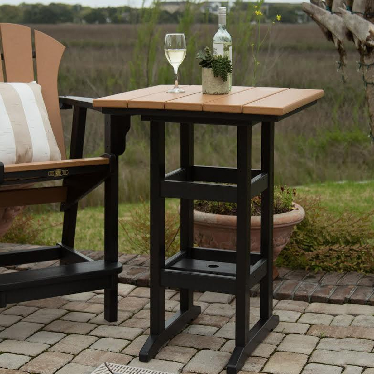 Square Counter Height Dining Table  Et&T Distributors, Inc (View 7 of 15)