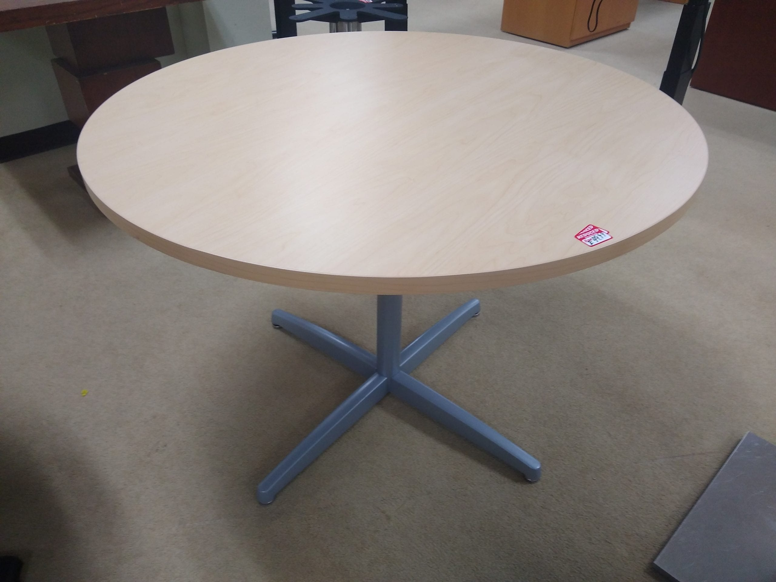 """Standard Round Table 41.5""""   Office Furniture Liquidations With Most Current Mcquade (View 8 of 15)"""