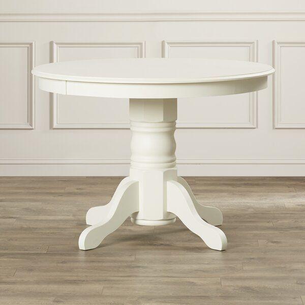 Standridge Pedestal Dining Table In 2020 | Pedestal Dining With Most Current Bineau 35'' Pedestal Dining Tables (View 13 of 15)