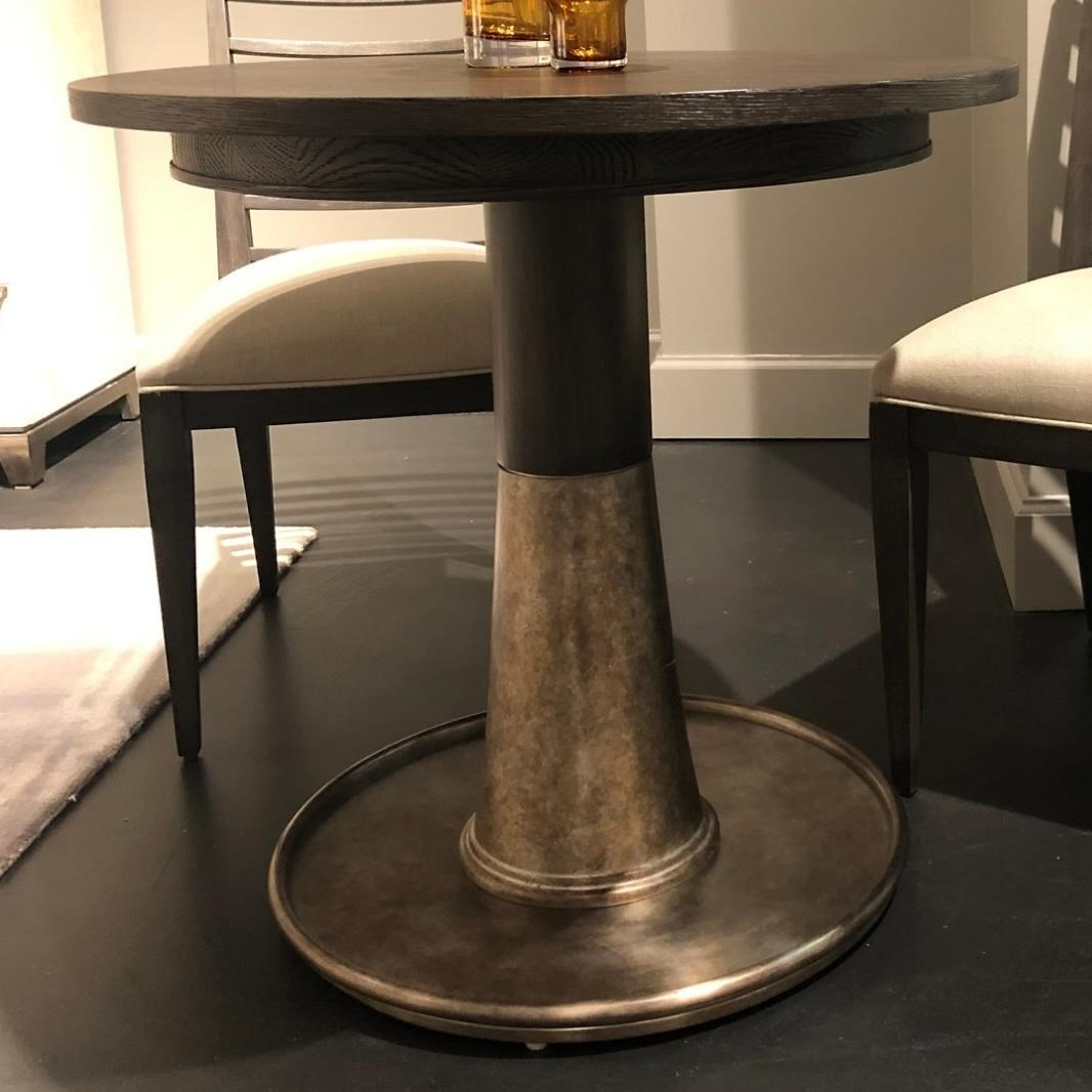 """Stanley Furniture Horizon 32"""" Bistro Table With Steel Base Throughout 2017 Hemmer 32'' Pedestal Dining Tables (View 12 of 15)"""