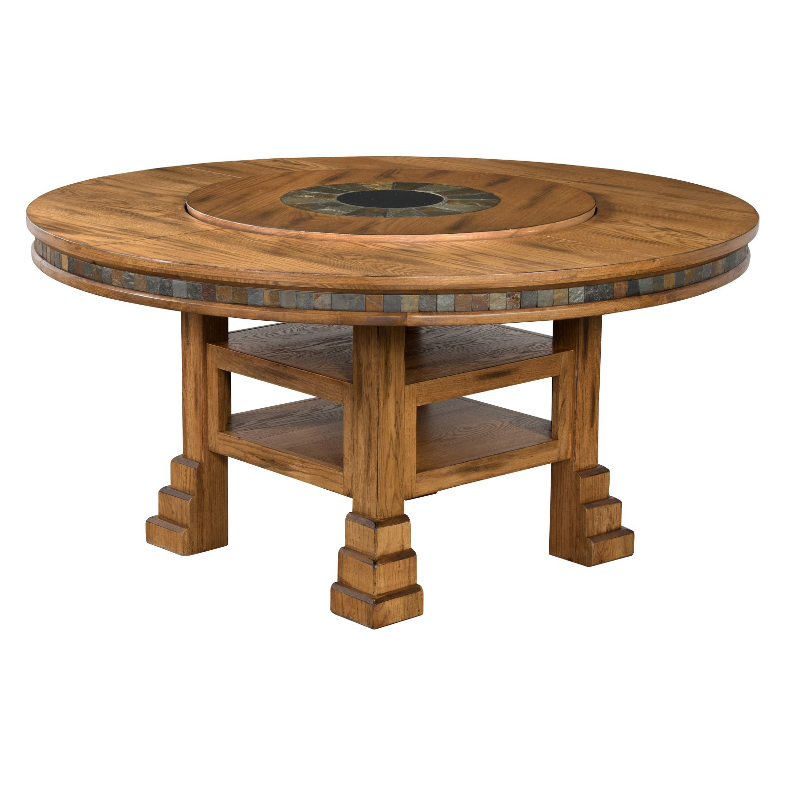 Sunny Designs Sedona Adjustable Height Dining Table With Regarding 2017 Getz 37'' Dining Tables (View 13 of 15)