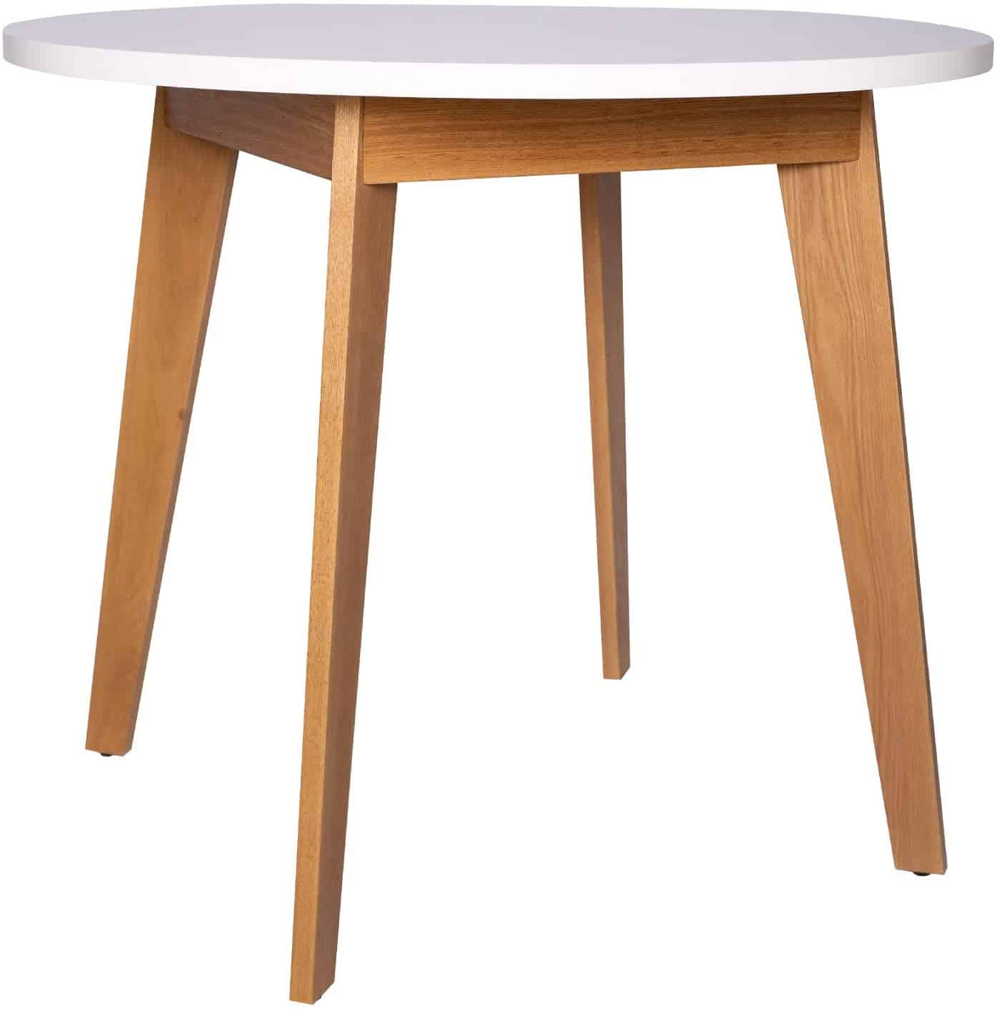 The 10 Best Round Dining Tables (2021 Reviews) For Most Up To Date Akitomo (View 14 of 15)