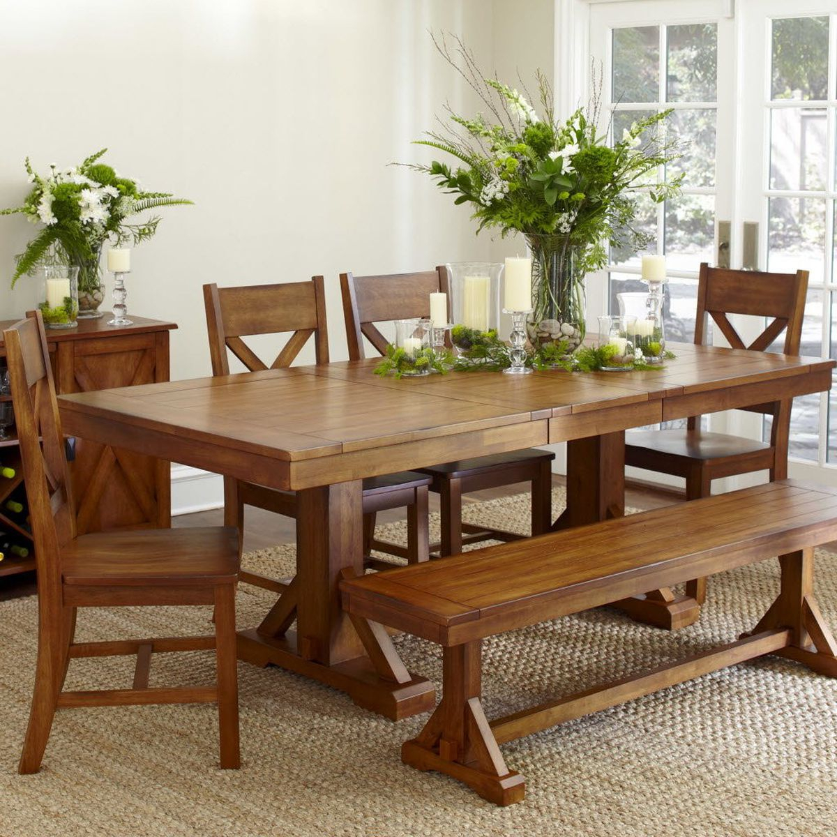 Three Trestle Style Dining Table – Oregonlive With Regard To Best And Newest Nerida Trestle Dining Tables (View 4 of 15)