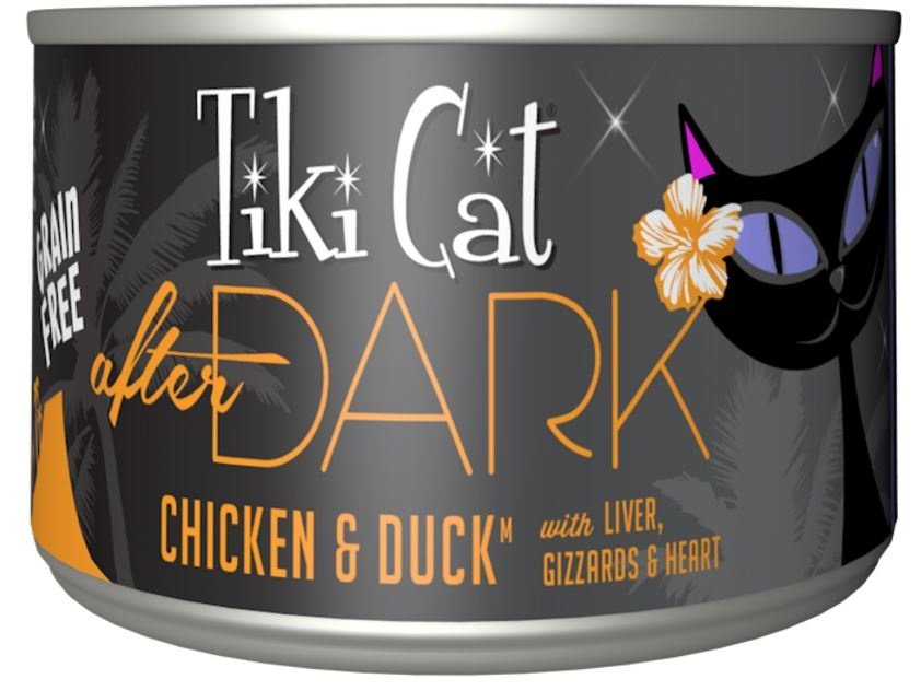Tiki Cat After Dark Grain Free Chicken And Duck Canned Cat Regarding Newest Fromm  (View 5 of 8)