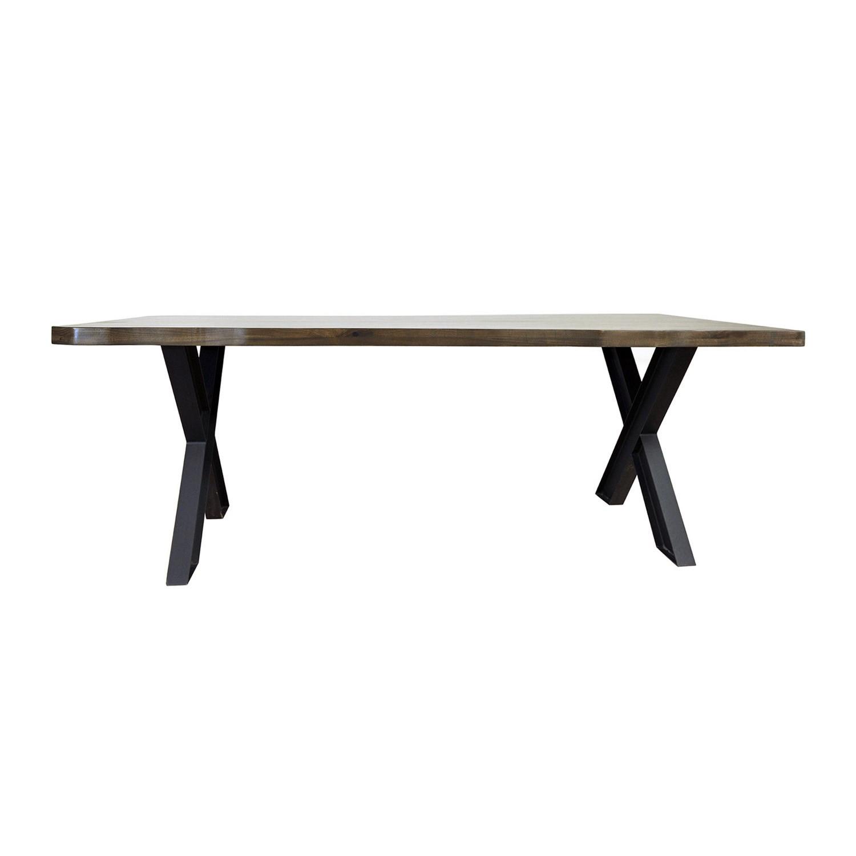 Titan Medium Dining Table/Mdf+Poplar+Metal Legs/78.75* (View 5 of 15)