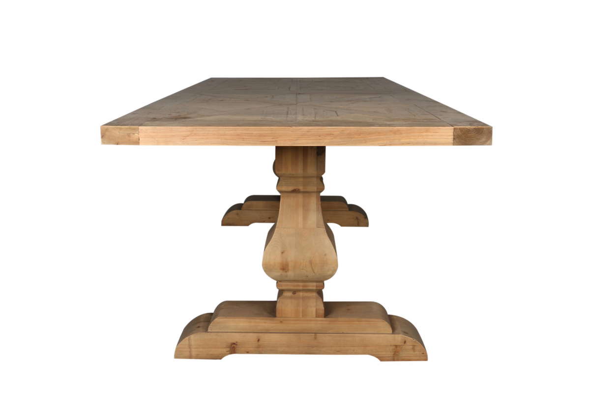 Trenton Dining Table Natural With Most Popular Genao 35'' Dining Tables (View 12 of 15)