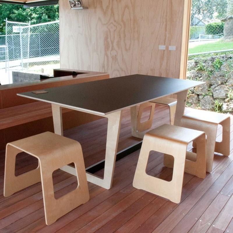 Trestle Dining Tabletim Webber Design Pertaining To 2018 Nerida Trestle Dining Tables (View 6 of 15)