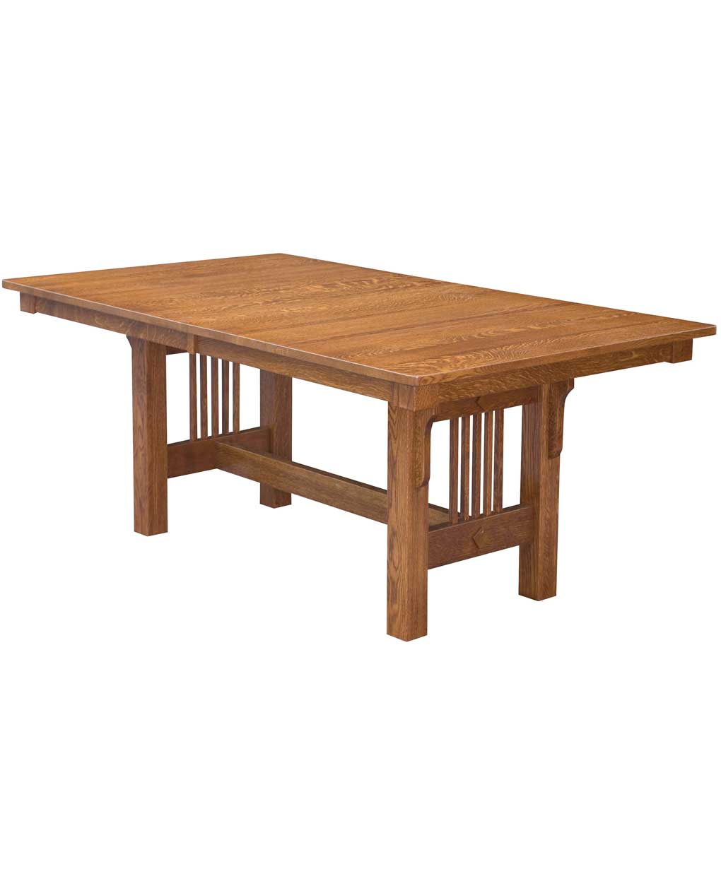 Trestle Mission Dining Table – Amish Direct Furniture With Regard To Most Recently Released Nerida Trestle Dining Tables (Photo 3 of 15)