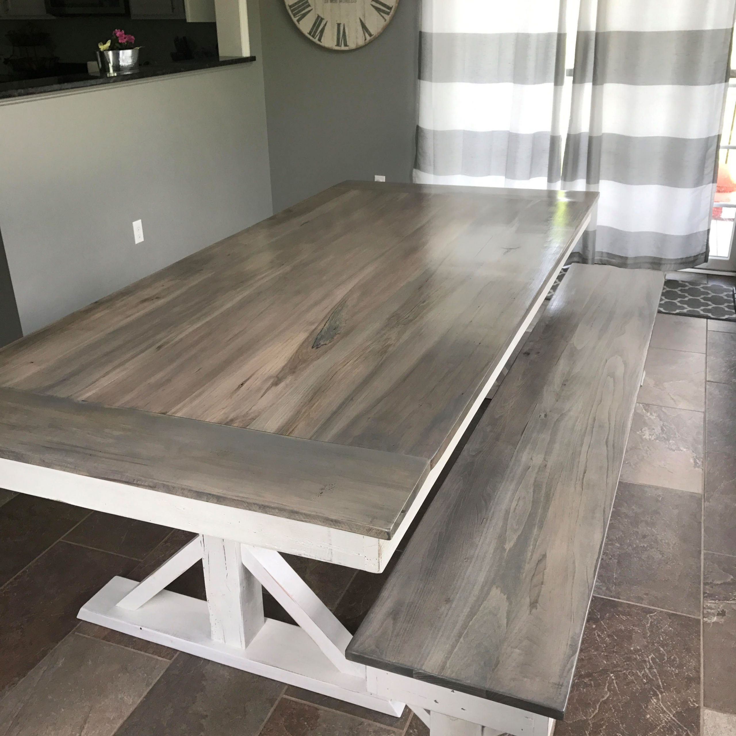 Trestle X Farmhouse Dining Table | Farmhouse Dining Room Intended For Most Recently Released Alexxes 38'' Trestle Dining Tables (View 8 of 15)