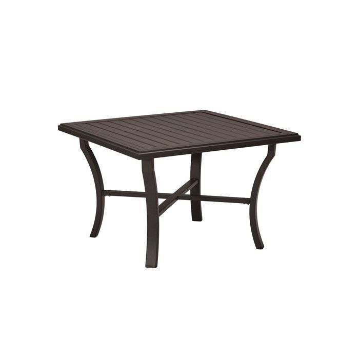 """Tropitone Banchetto 42"""" Square Dining Table – Leisure Living Within 2018 Darbonne 42'' Dining Tables (View 7 of 15)"""