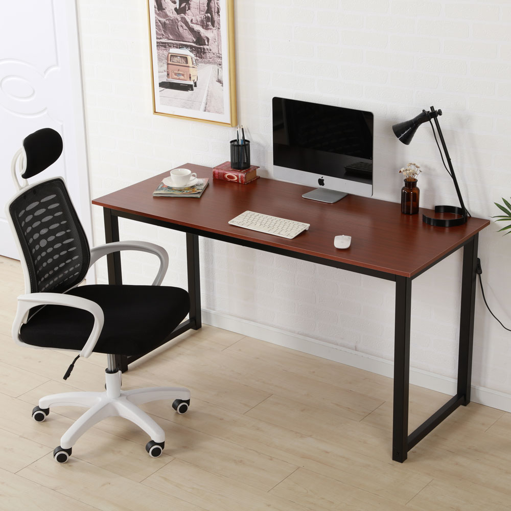 """Ubesgoo 47*24*29"""" Rectangular Dining Table Office Desk Within Most Recently Released Gunesh  (View 2 of 15)"""