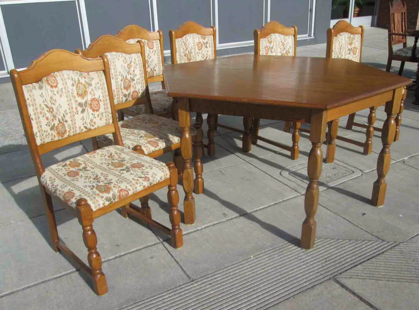 Uhuru Furniture & Collectibles: Sold German Dining Table In Current Bekasi 63'' Dining Tables (View 13 of 15)