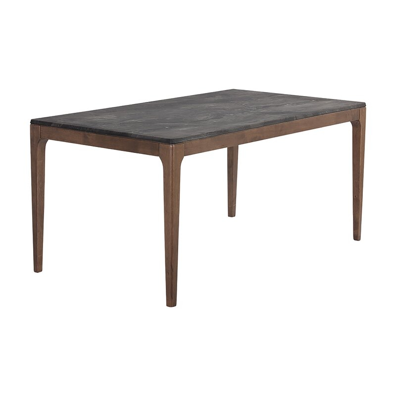"""Union Rustic Schweitzer 35.43"""" Dining Table With Most Current Isak  (View 2 of 15)"""