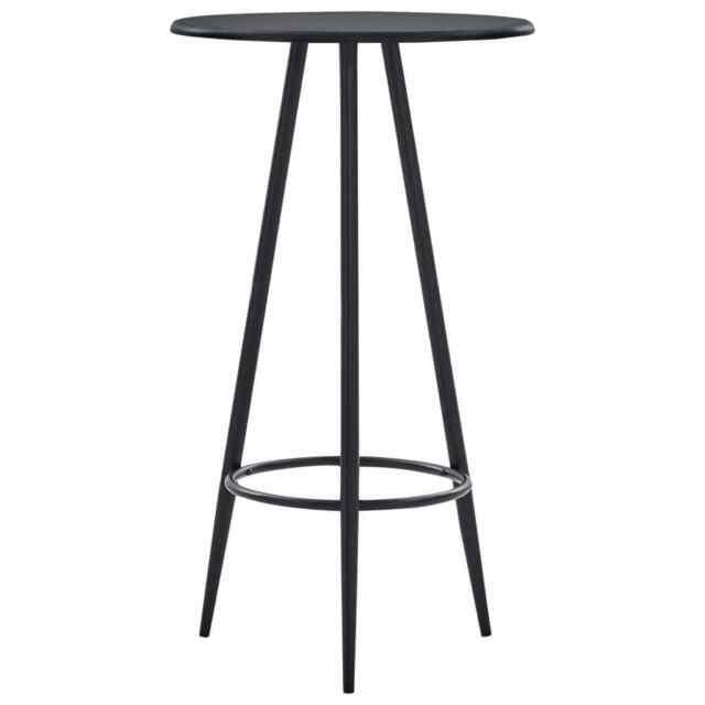 """Vidaxl Bar Table 23.6"""" Mdf Bistro Pub Restaurant Kitchen Regarding Newest Crilly  (View 15 of 15)"""