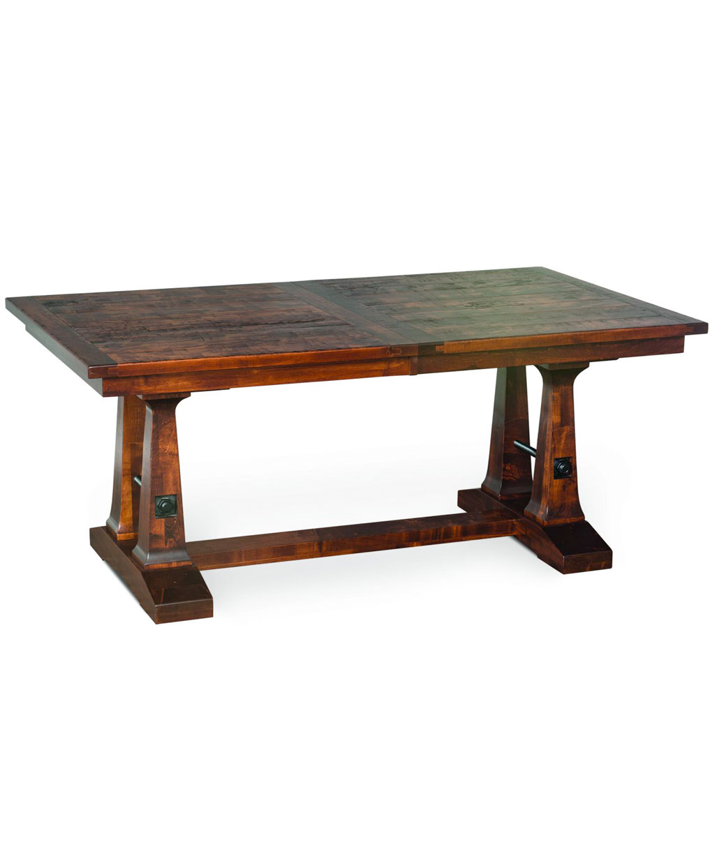Vienna Trestle Dining Table – Amish Direct Furniture Regarding Current Trestle Dining Tables (Photo 12 of 15)