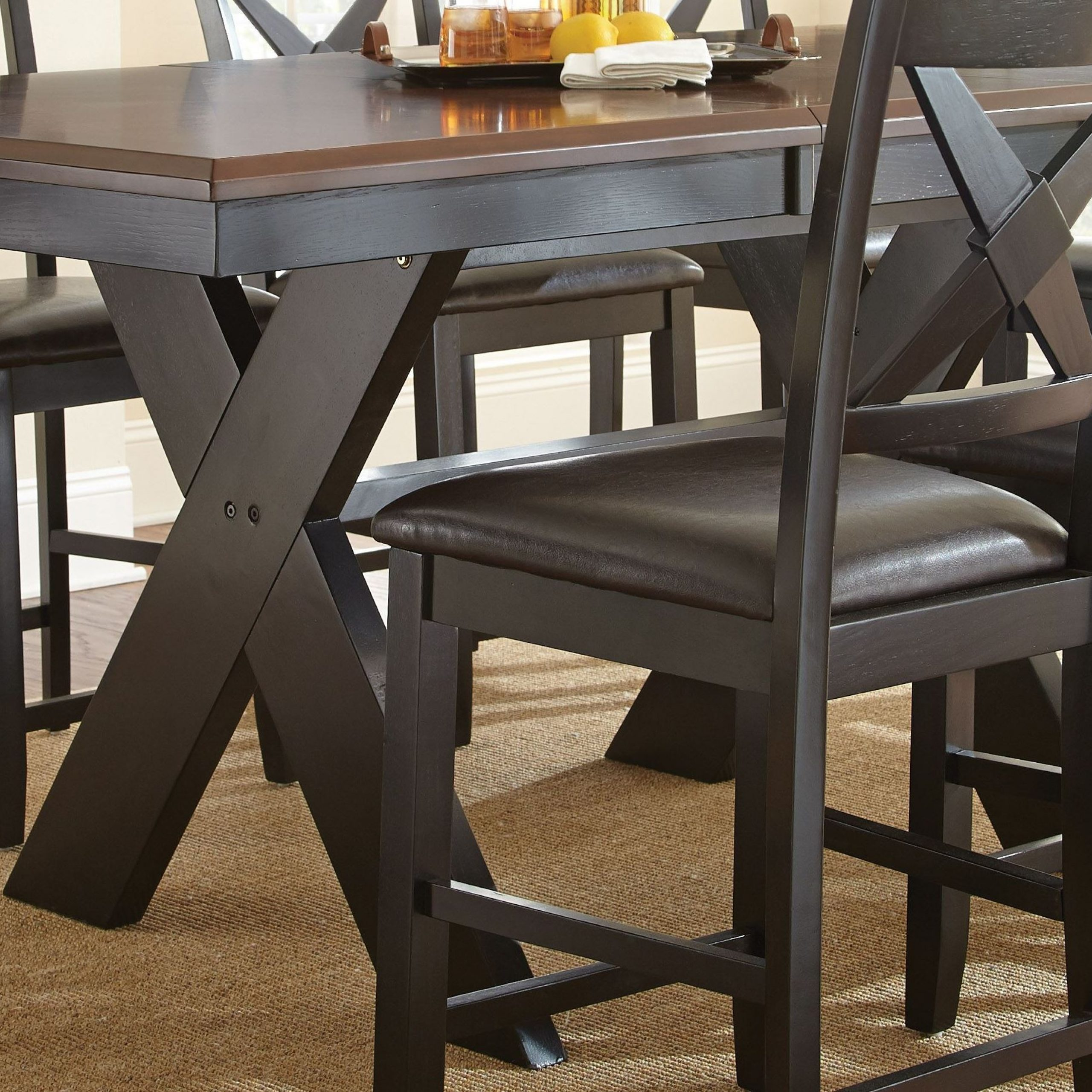 Violante Extendable Rectangular Counter Height Dining Inside Latest Desloge Counter Height Trestle Dining Tables (View 12 of 15)