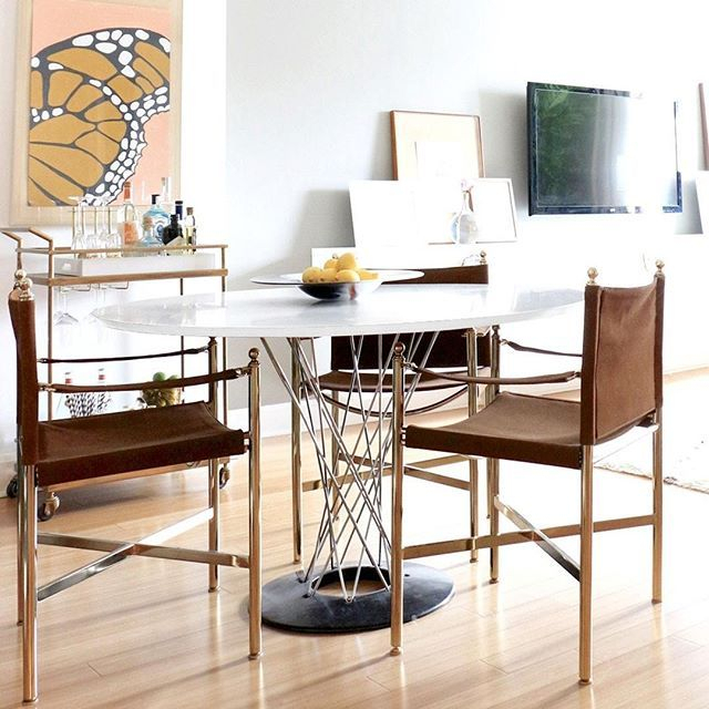 Vortex Table Lures You In With Its Radiating Spiral Inside 2018 Tudor City 28'' Dining Tables (View 11 of 15)