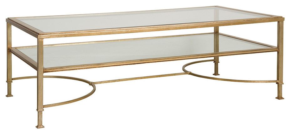 Watkins Cocktail Table – Transitional – Coffee Tables – Regarding Best And Newest Drift  (View 8 of 15)