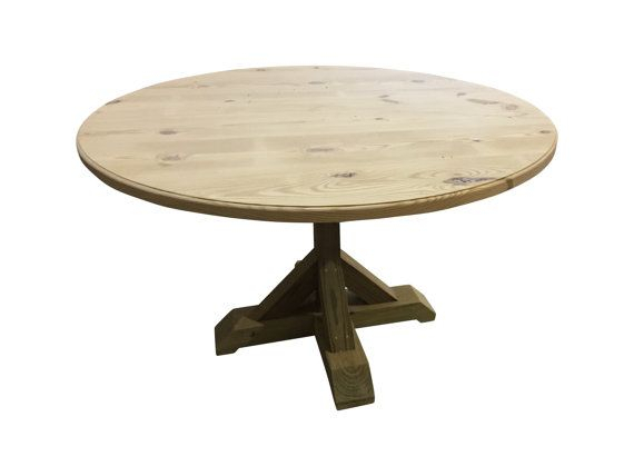 We Have Had A Bunch Of Customers Asking For Raw Or Inside Latest Minerva 36'' Pine Solid Wood Trestle Dining Tables (View 2 of 15)