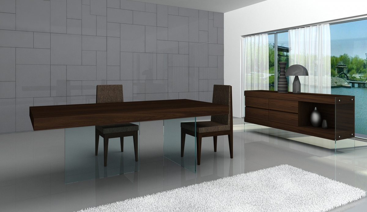 Weider Modern Dining Table Throughout Most Up To Date Isak  (View 14 of 15)
