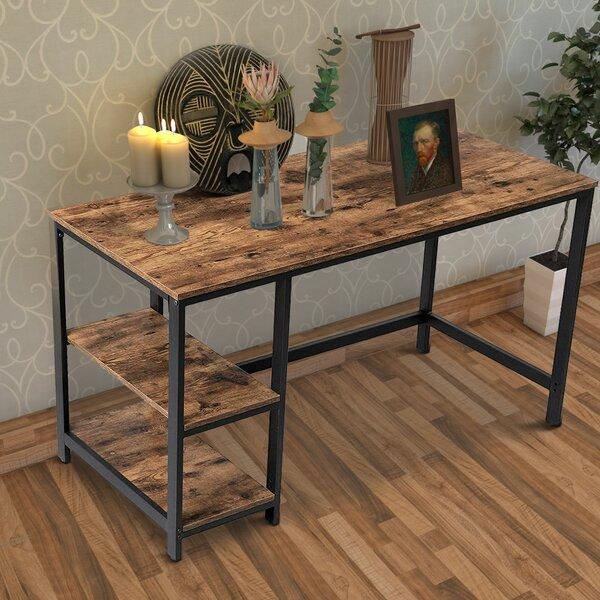 Williston Forge Javion Reversible Desk & Reviews   Wayfair With 2017 Javion (View 2 of 3)