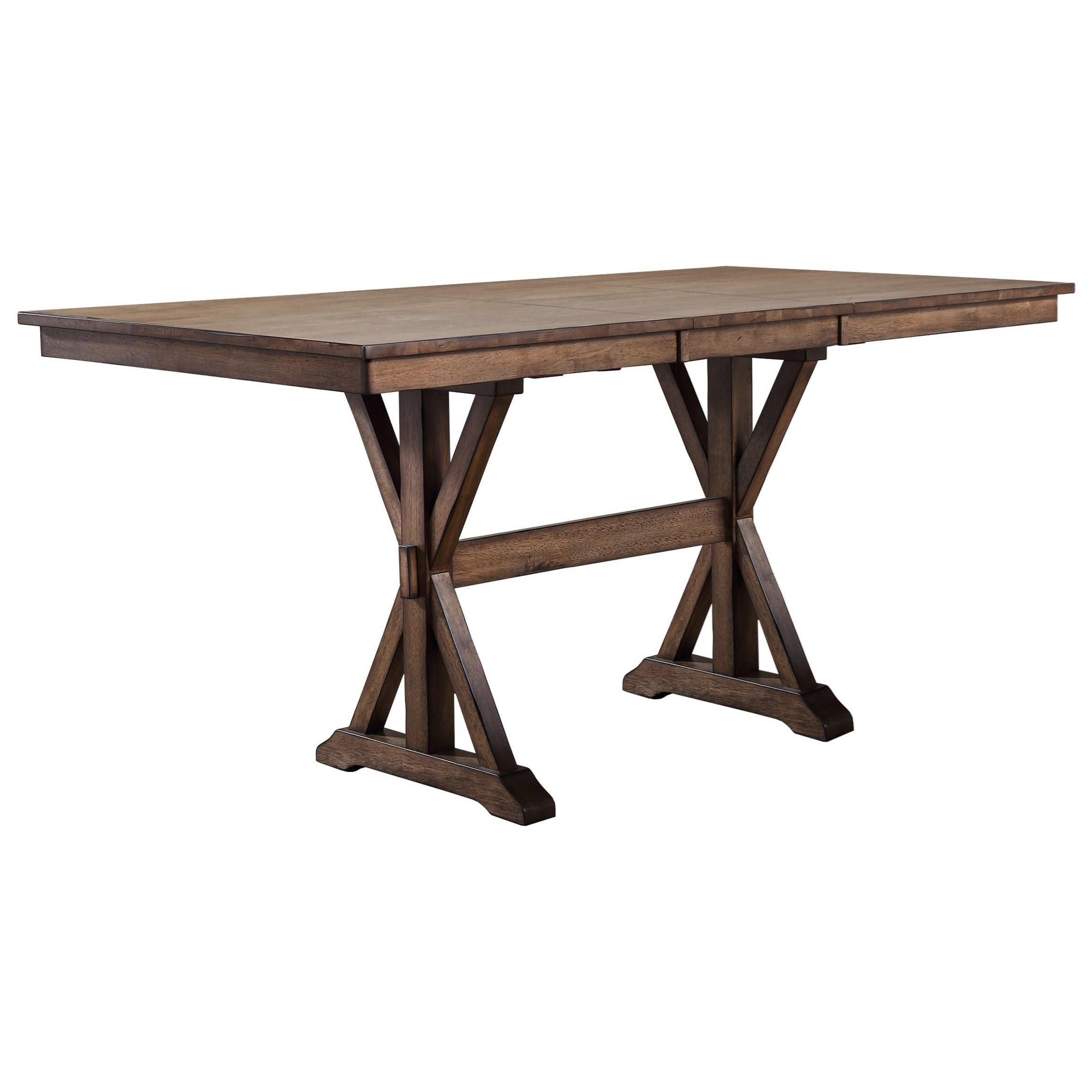 """Winners Only Carmel Dct33879R 78"""" Counter Height Dining For Best And Newest Andrelle Bar Height Pedestal Dining Tables (Photo 14 of 15)"""
