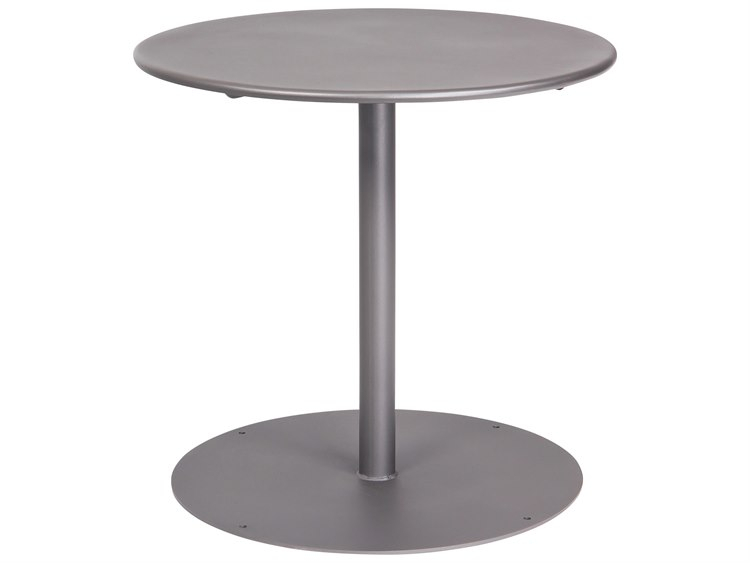 Woodard Wrought Iron 30'' Wide Round Bistro Table   Wr13L3Rd30 In Most Recently Released Dellaney 35'' Iron Dining Tables (View 2 of 15)