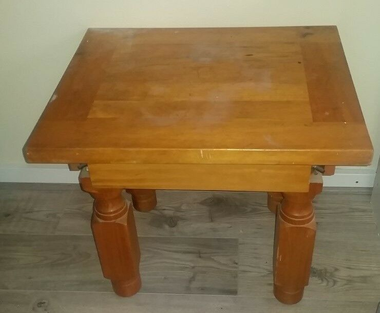 Wooden Table | In Milton Keynes, Buckinghamshire | Gumtree Within Best And Newest Milton Drop Leaf Dining Tables (View 7 of 15)