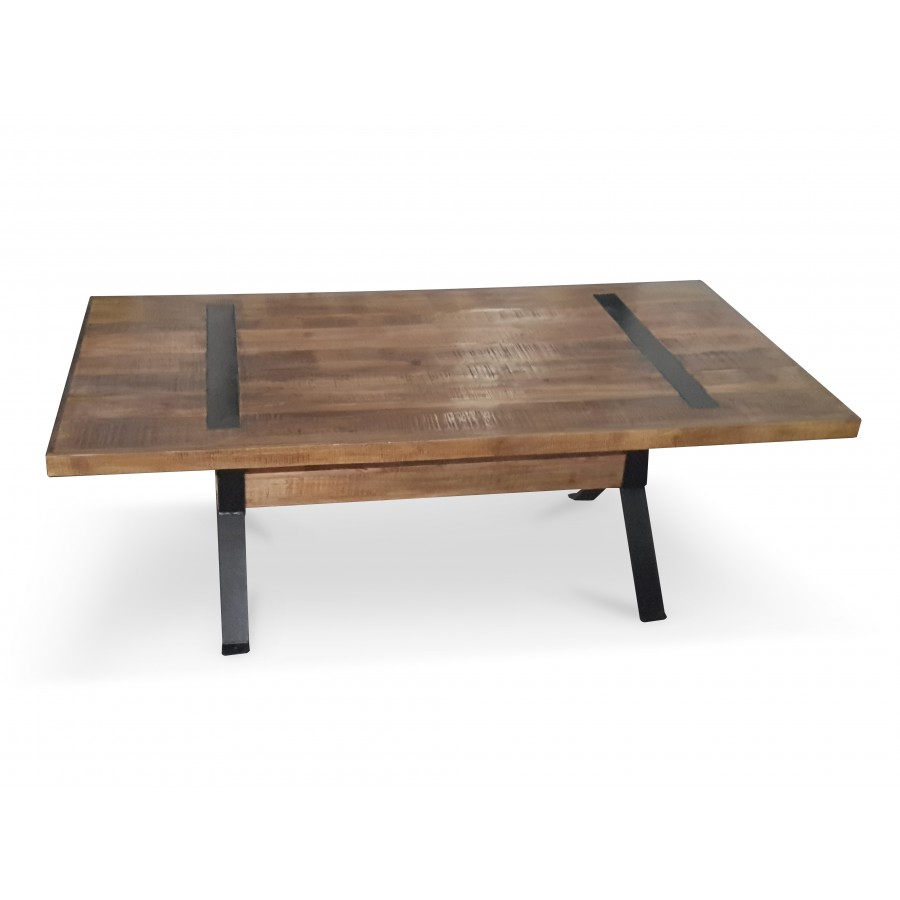 Xavier Industrial Dining Table | Bare Outdoors Pertaining To Most Recent Baring 35'' Dining Tables (View 6 of 15)