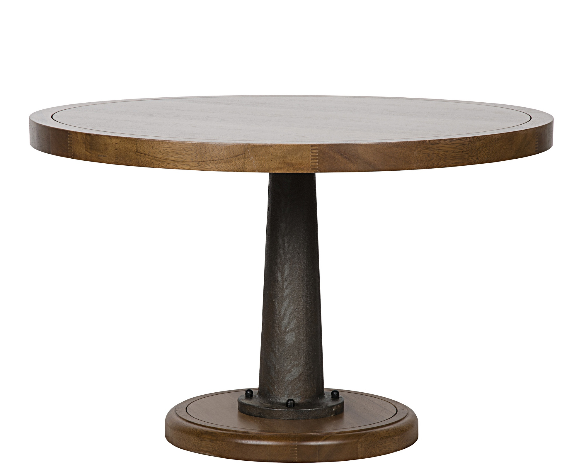 """Yacht Dining Table With Cast Pedestal, 48"""" Intended For Most Up To Date Tabor 48'' Pedestal Dining Tables (View 4 of 15)"""